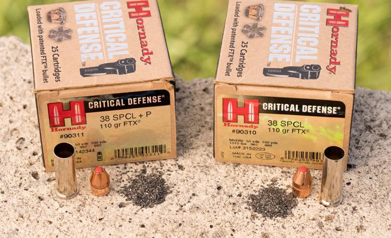 Hornady +p vs. standard ammo
