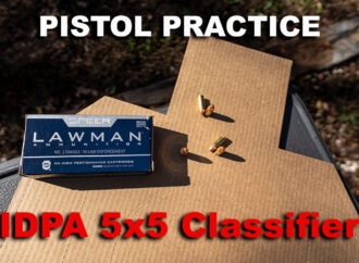 IDPA 5×5 Classifier Drill – How It Works