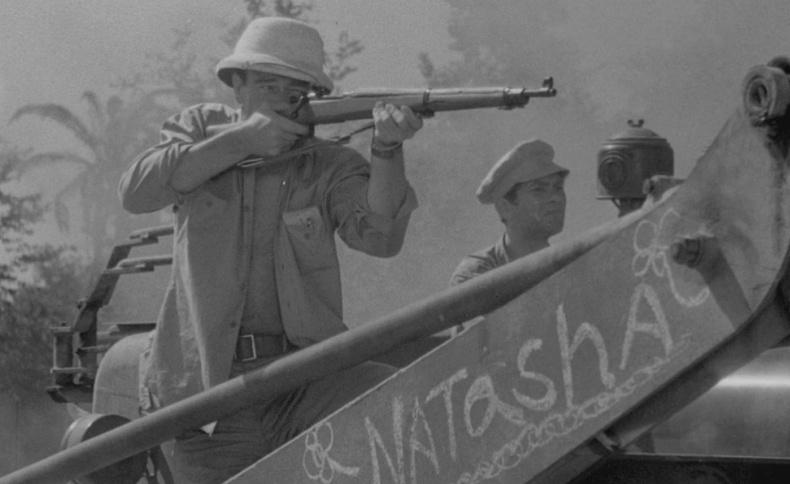 Rifle john wayne used in the movie Fighting Seabees