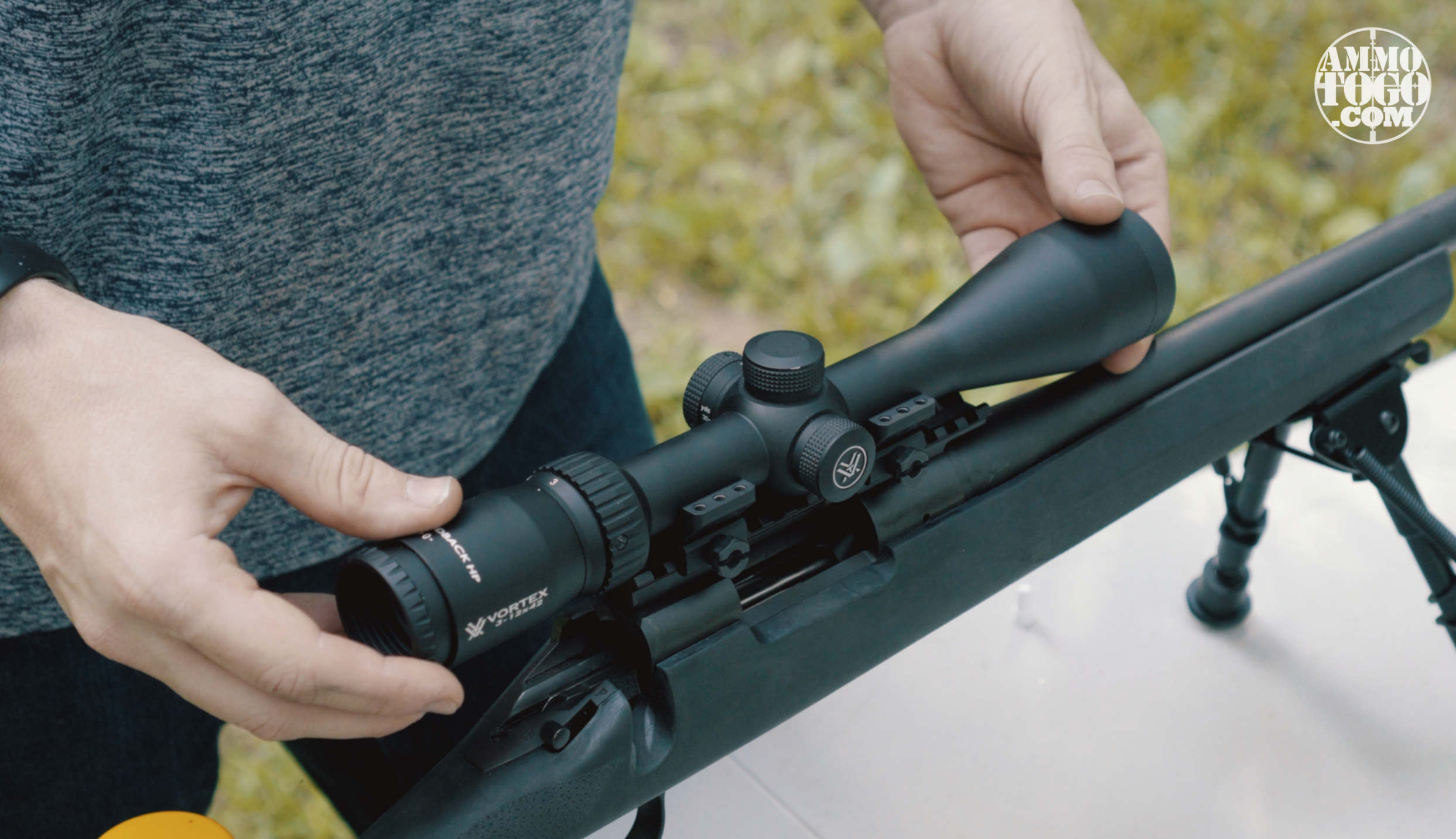 Mounting Rifle Scope to Scope Rings