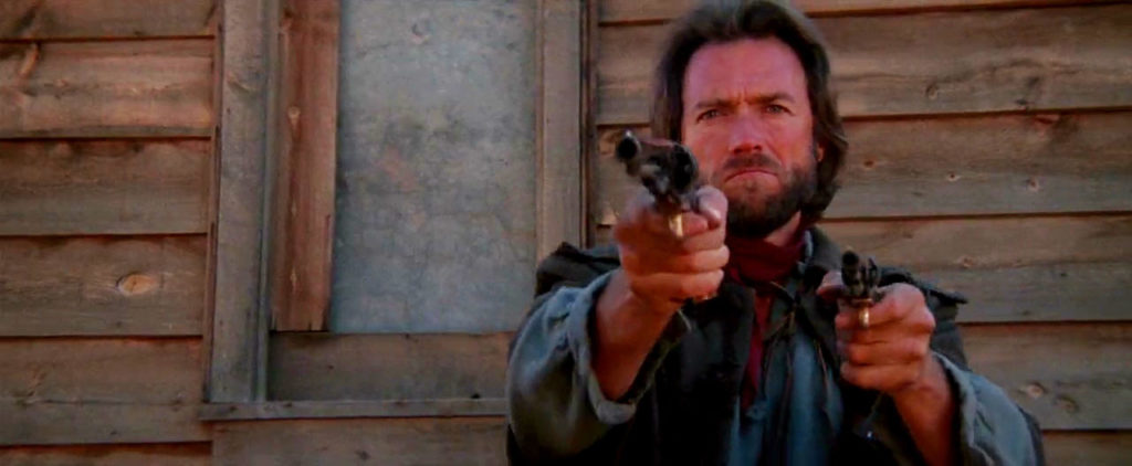 Clint Eastwood's revolver in The Outlaw Josey Wales