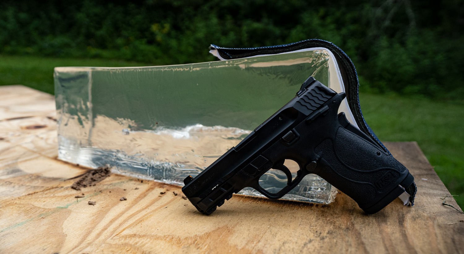 a good first handgun with ballistic gelatin