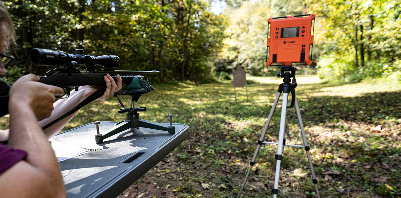 Shooting 17 HMR with a chronograph