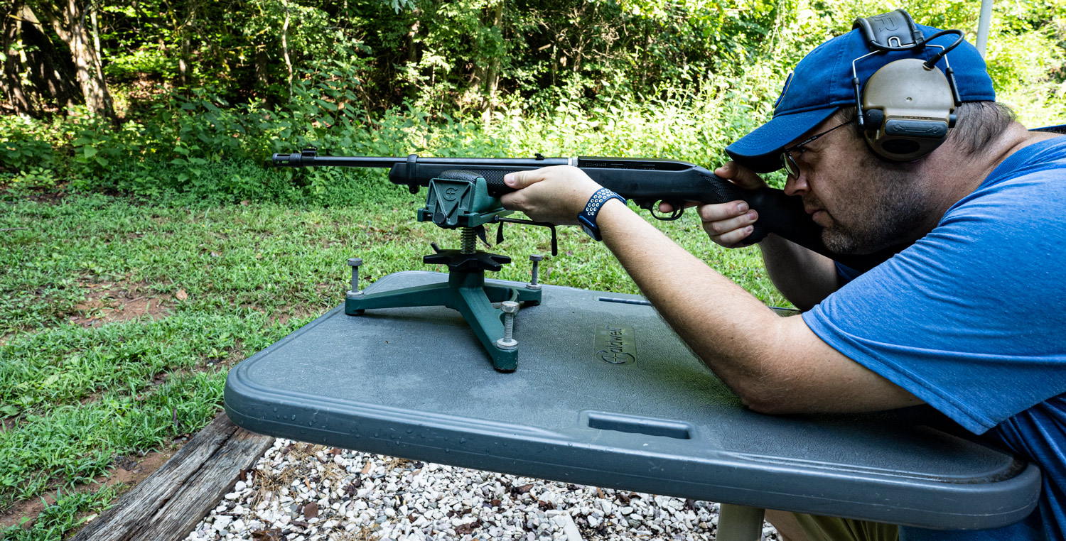 Using a rifle to use 22lr for home defense