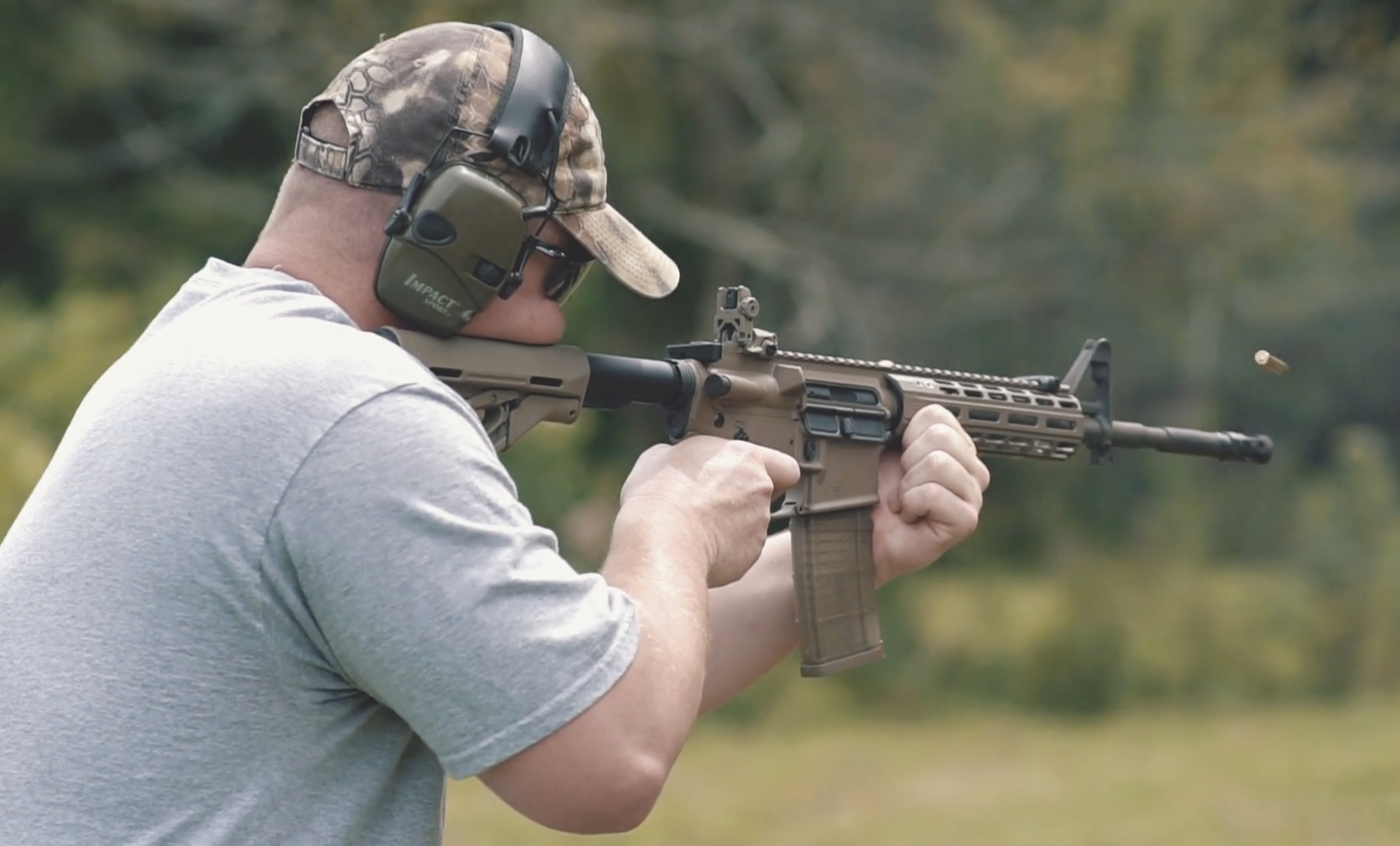 Shooting m855 with an ar-15 at the range