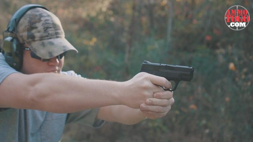 Firing bonded ammo at the range