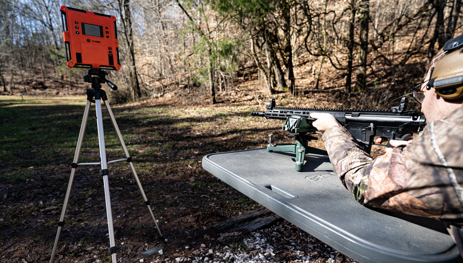Measuring velocity of the 6.5 grendel vs 308 with a rifle at a shooting range