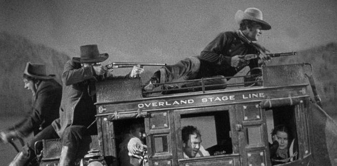 Firearms used in john wayne movie Stagecoach