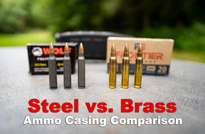 Steel vs Brass Ammo – What Should You Shoot?