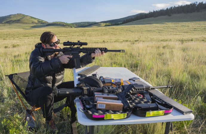 Shooting Firearms on Federal Land