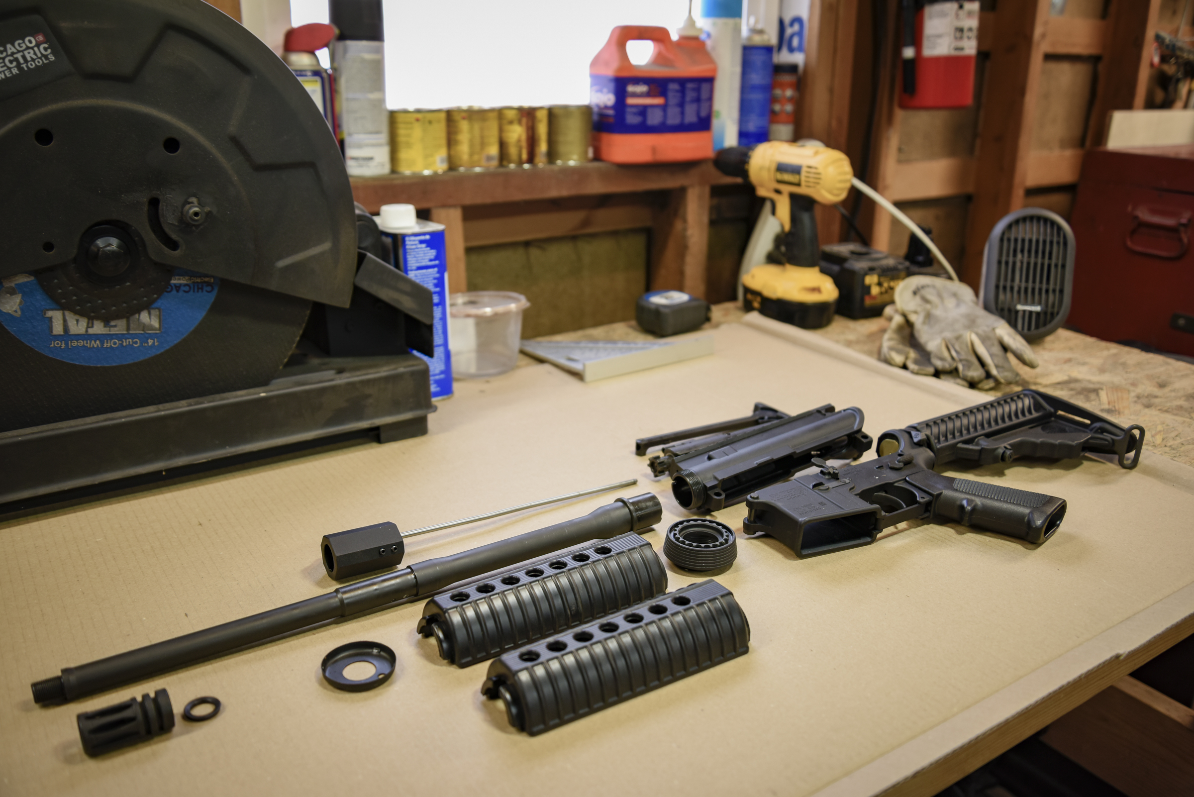 Installing an AR-15 barrel
