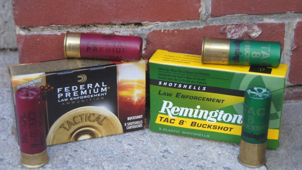 Tactical Shotgun Ammunition from Federal and Remington