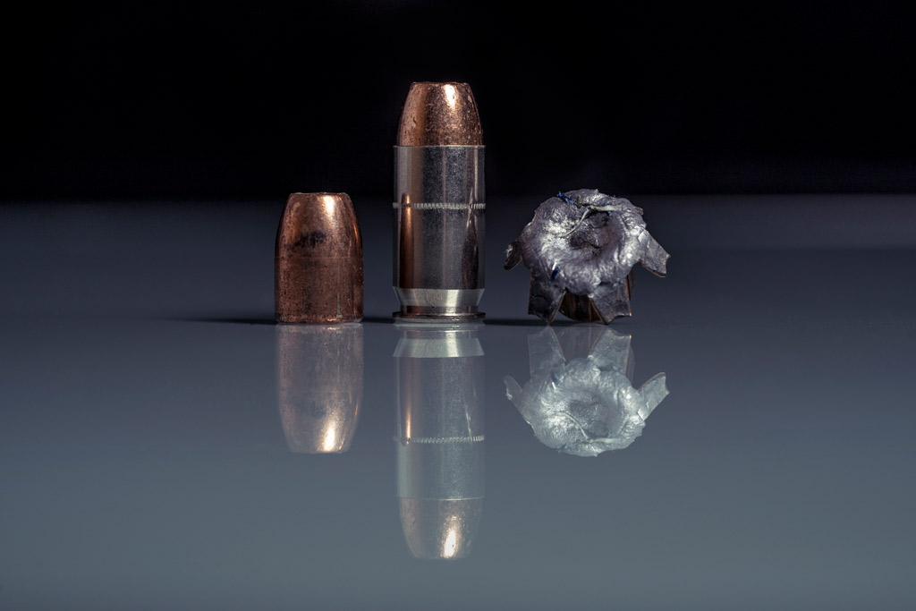Federal Premium Tactical .45 bullets compared