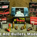 what are bullets made of image