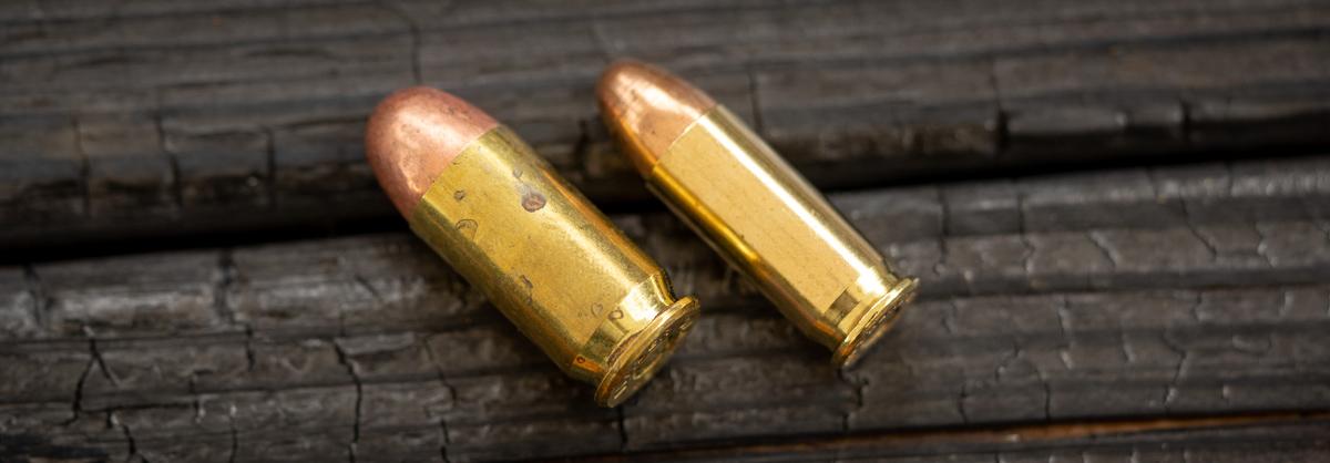 38 super ammo cartridge vs. 45 acp ammo