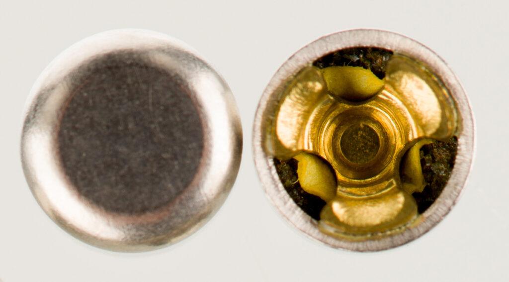 steel ammo casings loaded with berdan primers