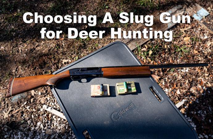Choosing the Best Slug Gun for Deer Hunting