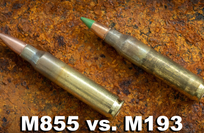 Green Tip M855 vs. M193 Ammo