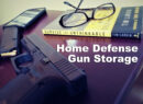 how to store a gun for home defense pistol on a nightstand