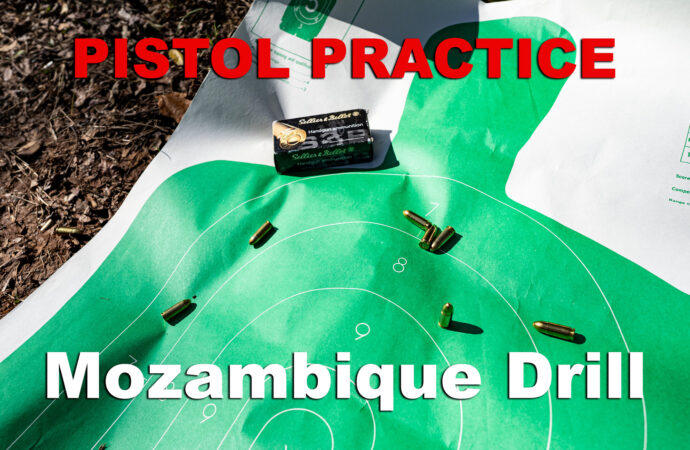 Mozambique Drill – Three Shots to Stop a Violent Threat