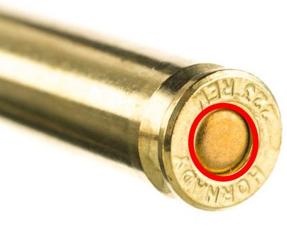 image of a primer in ammunition