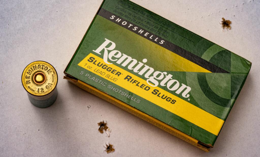 rifled slugs for home defense