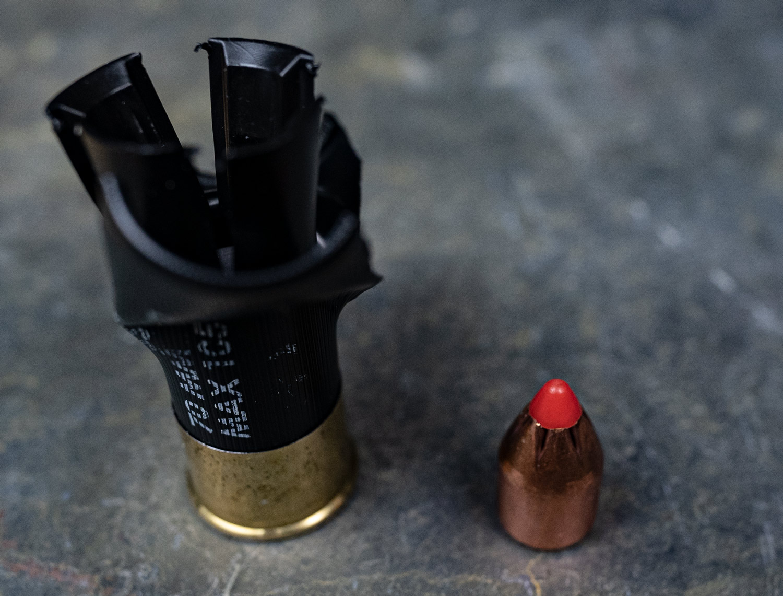 A rifled slug for the best slug gun dissected