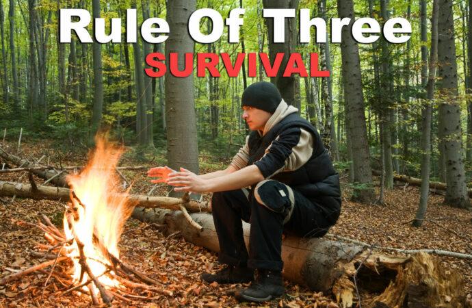 Survival 101: Rule of Three