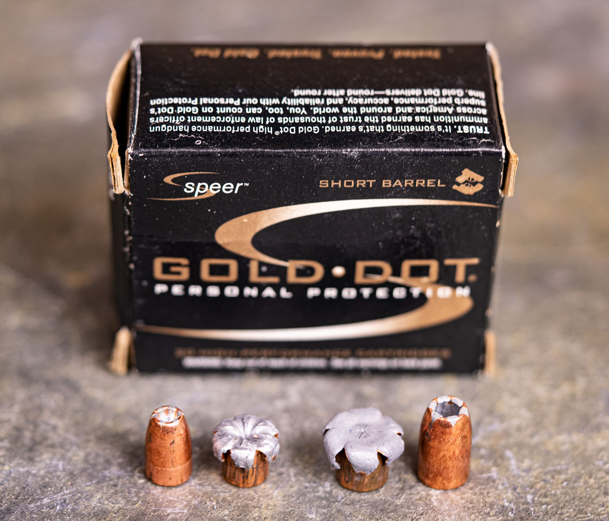 Speer Gold Dot 9mm ammo